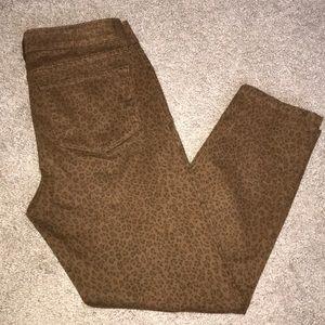 NYDJ Leopard Ankle Jean